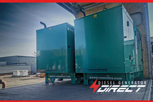 Fire Powered Diesel Generators