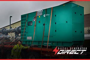 Newcastle Diesel Genset Delivery