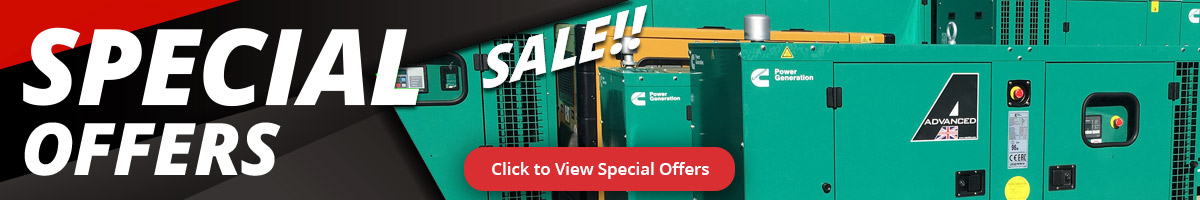 Special Offer Diesel Generator Deals