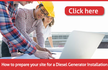 how to prepare your site for a diesel generator/genset installations