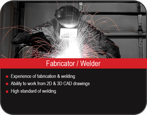 Fabricator job vacancy in Yorkshire, UK